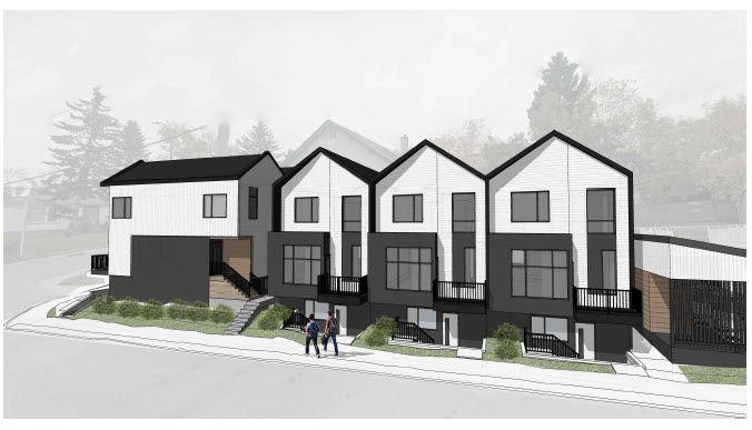 Calgary Townhouse Development 2022